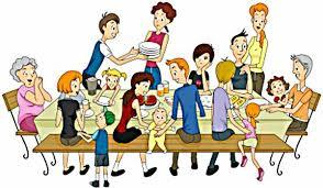 Image result for holiday family clip art